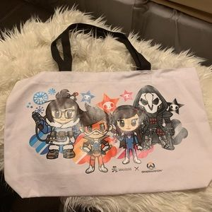 Tokidoki x Overwatch Canvas Tote Bag 2017